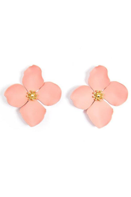 Garden Party Statement Flower Earrings