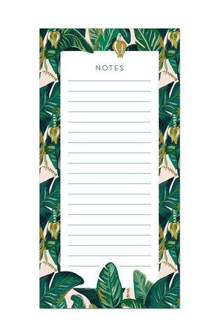Banana Leaf Market List Pad