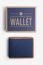 Load image into Gallery viewer, Navy Wallet