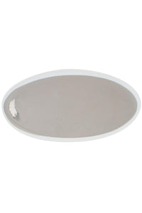 Platinum Large Oval Platter
