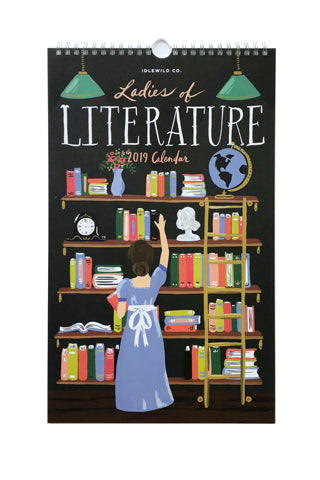 2019 Ladies of Literature Calendar