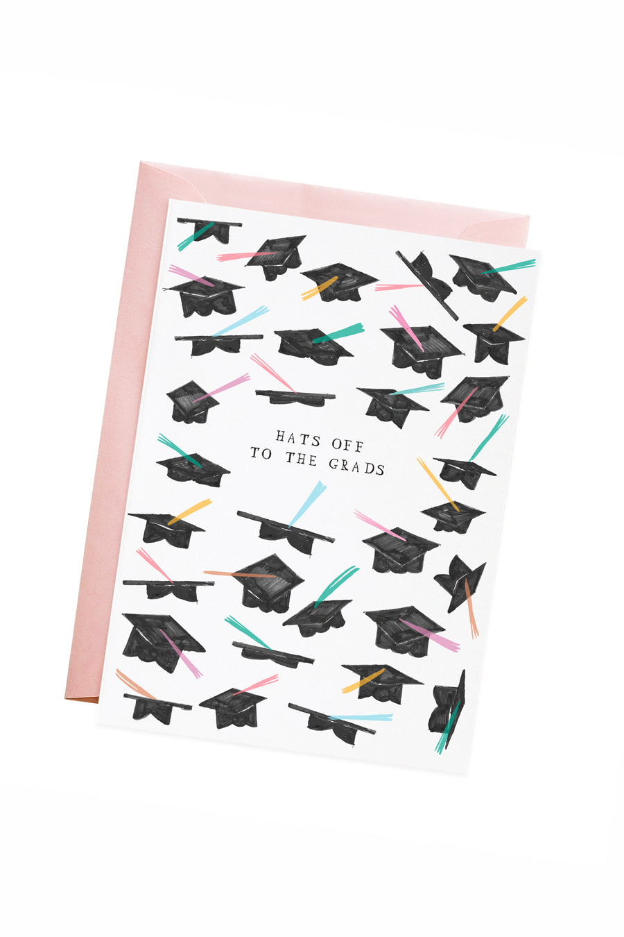 Hats Off Graduate Card