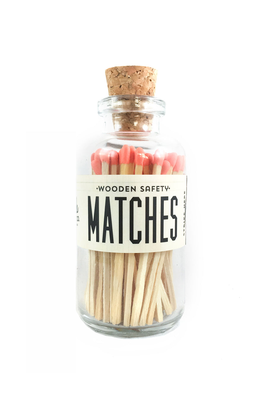Vintage Apothecary Matches | Coral