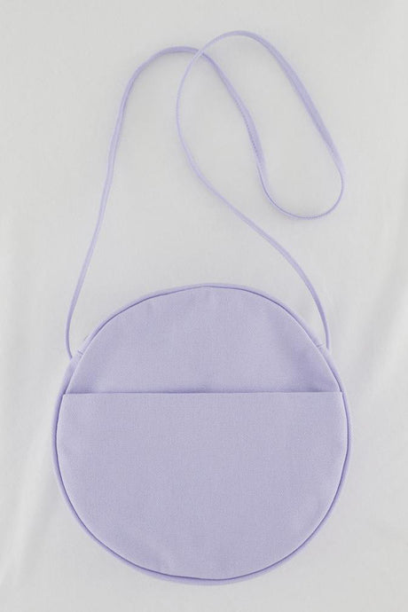 Medium Canvas Circle Bag