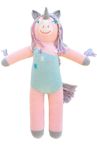 Confetti the Unicorn Knit Doll