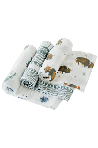 Bison Cotton Swaddle Set