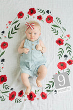 Load image into Gallery viewer, Photo Blanket | Summer Poppy