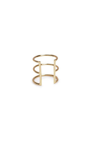 Delicate Caged Earr Cuff