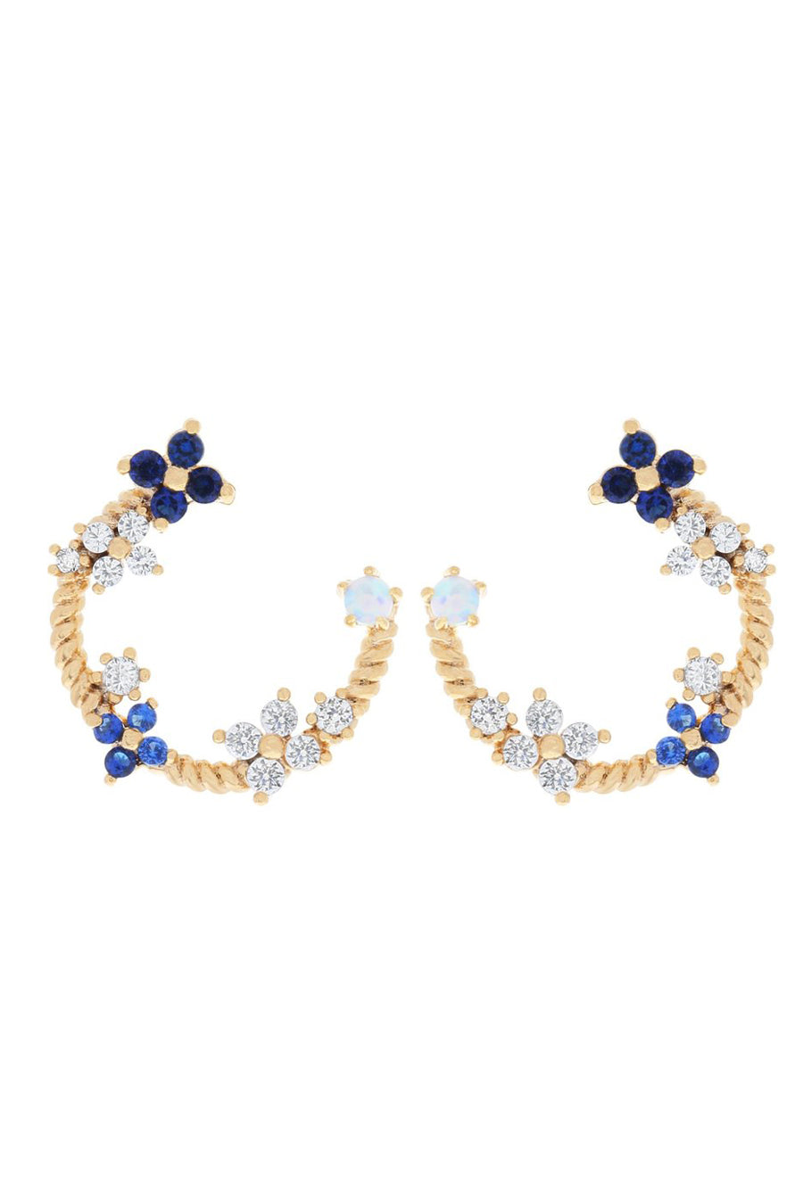Fleurette Earrings | Gold