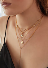 Load image into Gallery viewer, Nina Layered Lariat Necklace