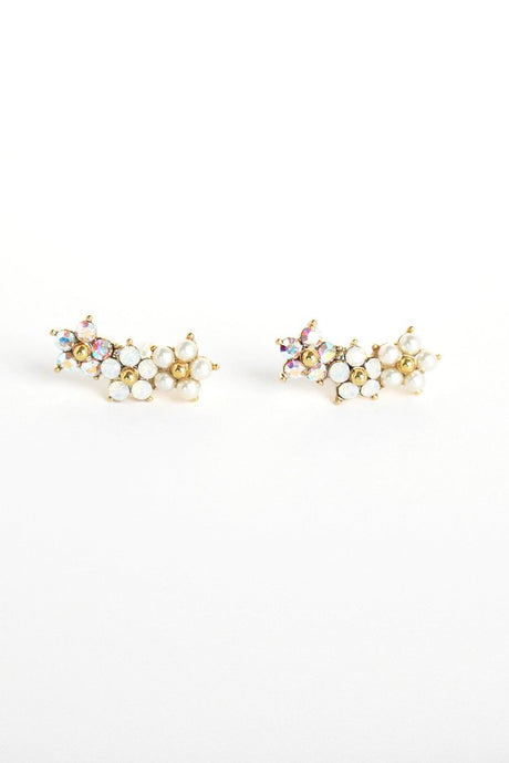 Floral Climber Earrings