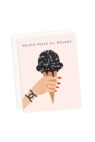 Gelato Heals All Wounds Card