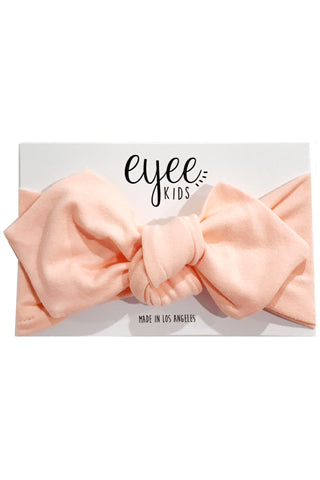 Peach Top Knot Headband