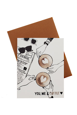 You, Me & Coffee Card