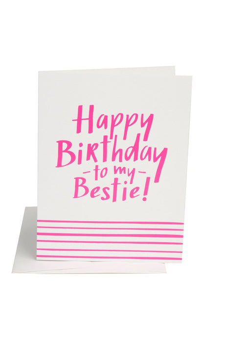 Birthday Bestie Card