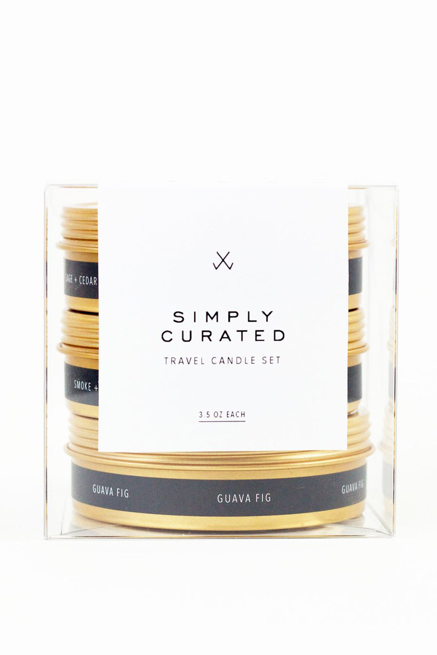 Simply Curated Travel Candle Set