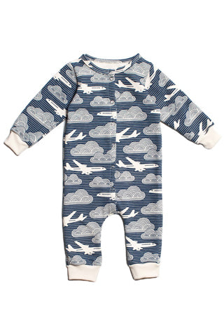 In The Clouds French Terry Jumpsuit
