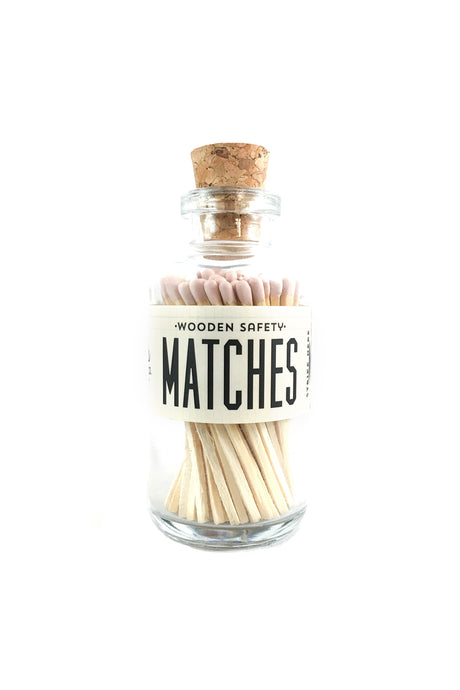 Vintage Apothecary Matches | Blush