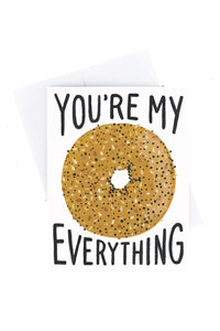 Everything Bagel Card