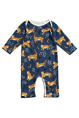 Wildcats Long-Sleeve Romper