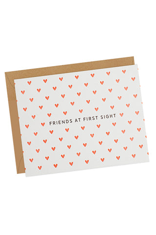 Friends at First Sight Card
