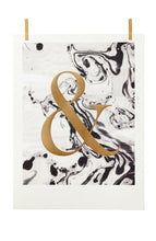 Load image into Gallery viewer, Marbled Ampersand Print