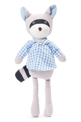 Max the Raccoon in Gingham Shirt