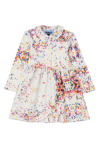 Sugar Dots Peter Pan Collar Dress