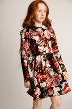 Load image into Gallery viewer, Floral Peter Pan Collar Dress