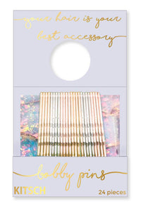 Opal Matchbook Bobby Pins