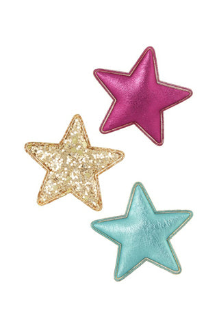 Party Time Star Hair Clips