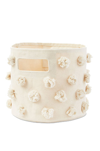 Natural Pom Pom Pint Bin