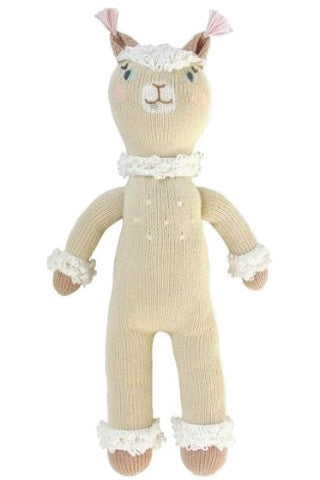 Picchu the Alpaca Knit Doll