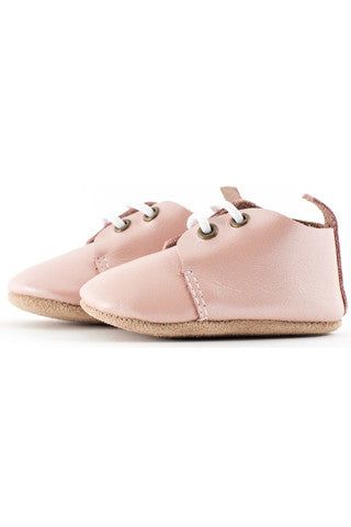 Blush Pink Oxfords - Baby