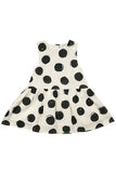 Dots Button Back Dress