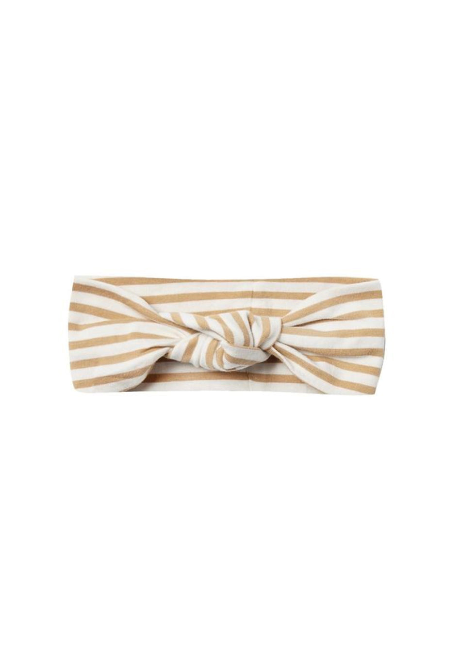Organic Jersey Baby Turban | Honey Stripe