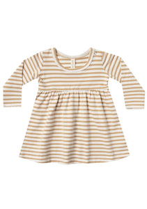 Baby Dress | Honey Stripe