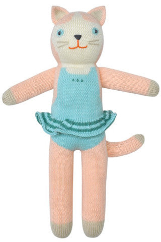 Splash the Cat Knit Doll