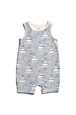 High Seas Tank-Top Romper
