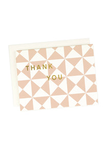 Pinwheel Thank You Card