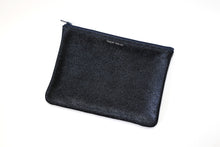 Load image into Gallery viewer, Midnight Sparkle Medium Zip Pouch