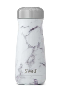 S'well 16 oz. Traveler | White Marble