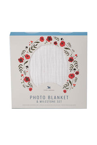 Photo Blanket | Summer Poppy