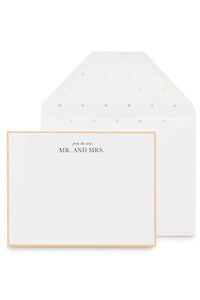 From the New Mr. & Mrs. Noteset