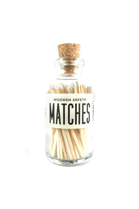 Vintage Apothecary Matches | White