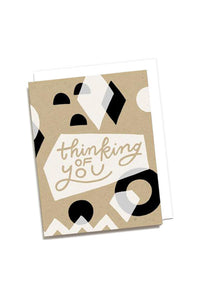 Thinking of You Geo Card