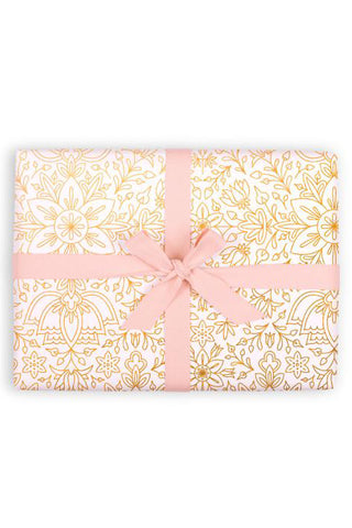Prussian Snow Gift Wrap Sheet