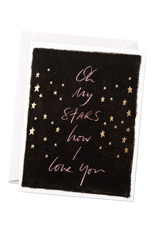 Oh My Stars Card