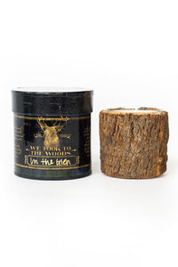 We Took to The Woods | Bark Candle