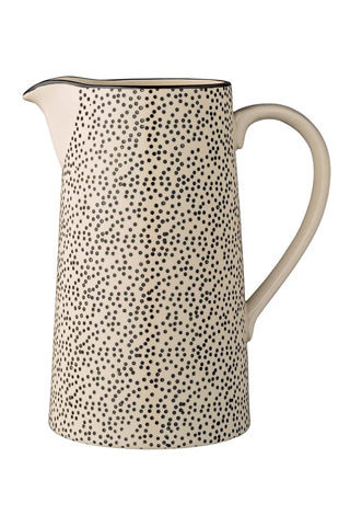Dotted Water Pitcher